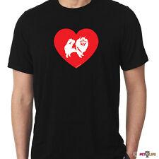 Love Keeshond Tee Shirt kees