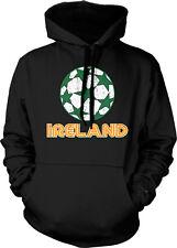 Ireland Soccer Ball Irish Eire Éire Gaelic Dublin Football Pride Hoodie Pullover