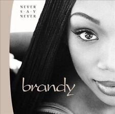 """NEW SEALED """"Brandy"""" Never Say Never Cassette tape         (G)"""