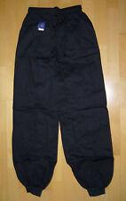 Hose mit Bündchen für Wing Tsun, schwarz, verschiedene Größen lieferbar