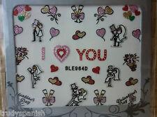 Saint Valentin Mariage Enterrement De Vie De Jeune Fille Love Hearts 3D