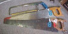 Disston Town Country Craftsman Saw Lot Hacksaw OLD