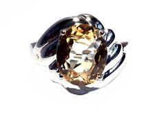 Damen Ring Camille, 925er Silber, 5,05 Kt. Citrin