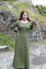 Mittelalter Unterkleid Wikinger Gewand Larp - Lindgrün