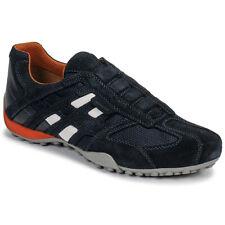 Geox Sneakers uomo UOMO SNAKE Nero Cuoio 11332239 fac86d5787e