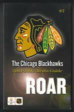 Chicago Blackhawks 2001-02 hockey media guide
