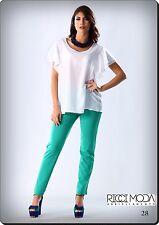13 pantaloni donna 130 made in italy  pants woman mujer pantalones  1301300013