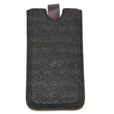 9610S portacellulare ARMANI JEANS ecopelle nero custodia cell phone case