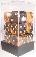 Paquete De 12 Oblivion Naranja Dados - 6 Lados & 15mm lados!