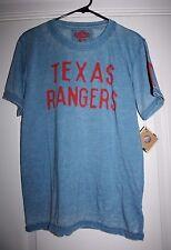 Texas Rangers T Shirt Genuine Baseball Merchandise By Red Jacket Small - 2XL