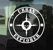 """URBAN EXPLORER - 8"""" DIE CUT VINYL DECAL/STICKER"""