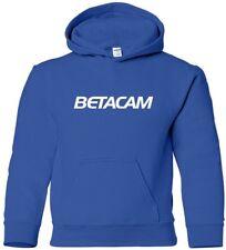 BETACAM Hooded Sweatshirt RETRO SONY 80s video tape hoodie COOL HOODY