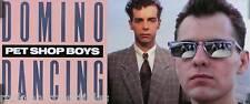 PET SHOP BOYS 1988 INTROSPECTIVE 2-SIDED PROMO POSTER