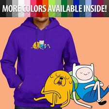Adventure Time Finn Jake Nap Sleep Cartoon Pullover Sweatshirt Hoodie Sweater
