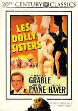 19244 // LES DOLLY SISTERS VOST FOURREAU CARTON DVD EN TBE