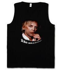 But words-words are not enough... Tank Top T-SHIRT-Klaus Kinski culto Retrò