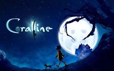 153238 Coraline Movie Art Wall Print Poster CA