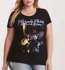 Torrid PRINCE PURPLE RAIN Womens Girls Plus Size T-Shirt NWT 100% Authentic