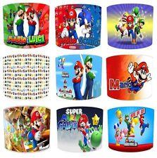Lampshades Ideal To Match Super Mario Duvets, Super Mario Wallpaper & Wall Art.