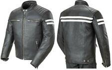 New Men's Motorcycle Brando Style Biker Cowhide Leather Jacket