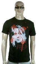 Rare AMPLIFIED Official NIRVANA Kurt Cobain Rock Star Vintage Löcher T-Shirt g.S