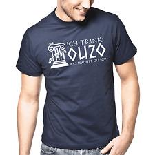 Ich trink' Ouzo, was machst Du so? | Sprüche | Party | Fun | S-XXL T-Shirt
