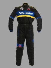 Herren Nissan GTR Motorsport Overall, Arbeitskleidung, Arbeitsoverall, Gestickt