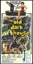 THE OLD DARK HOUSE original large 3-sheet poster JANETTE SCOTT/FENELLA FIELDING