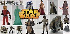 Star Wars-Figuras Sueltas-todas las películas-elige desde menús desplegables