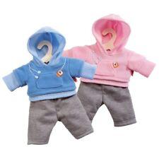 JOGGINGANZUG Puppe 35 bis 45 cm Trainings-Anzug Kleidung rosa / hellblau Auswahl