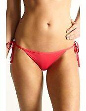 Moontide Reversible Tie Side String Bikini Pants Pink/Orange RRP £30.00
