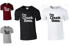 I'm Chuck Bass T Shirt I Am Blair Top Swag Dope Westwick Tumblr(Bass, T-Shirt)