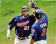 Rene Tosoni Minnesota Twins Signed Autographed 11x14 Photo LOM COA RT2  *