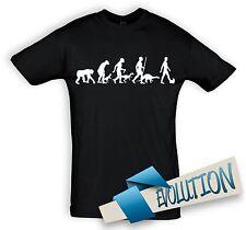 T-Shirt Shirt EVOLUTION HUND YORKSHIRE TERRIER, Baumwolle, große  Farbauswahl