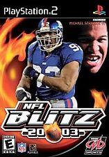 NFL Blitz 20-03 (Sony PlayStation 2, 2002)