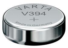 10x v394 OROLOGI BATTERIE OSSIDO DI ARGENTO pila a bottone sr45sw sr936sw di VARTA