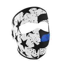Thin Blue Line Neoprene FULL Face Mask, Ski, Bike Face Protective Gear FREE SHIP