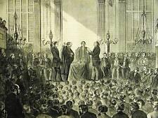 College of New Jersey Princeton DR. M'COSH PRESIDENT Zabriskie 1868 Print Matted