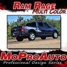 2014 Dodge Ram RAGE Multi-Color Truck Bed 3M Vinyl Graphics Decals Stripes M22