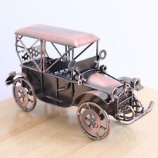 Retro Iron Crafts Vintage Car Model Handmade Home Office Art Decoration Gift