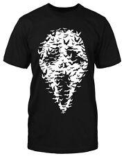 Fledermaus Scream  T-Shirt Horror Vintage Freddy Fun Shirt Jason Maske neu Retro