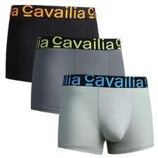 MENS BOXER SHORT LUXURY COTTON RICH VIBRANT CAVAILIA HIPSTER13 Vibrant Assorted