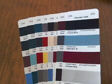 Chrysler USA (1) Car Colours  Solvent Basecoat  Aerosol & Tin  Select Colour