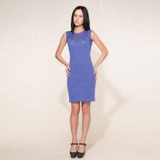 Strickkleid 100% Leinen Somerkleid Leinenkleid Business öko Sommer Kleid 1507