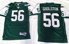 New York Jets Vernon Gholston Football Premier Jersey Green abe615774