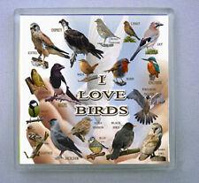 I LOVE BIRDS DRINKS COASTER GARDEN / BIRDS OF PREY LIMITED EDITION XMAS GIFT