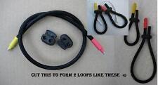 2 Anello di gomma conduttiva Elettrodi Tens ST-per scatti, TUBO (6.5 mm)
