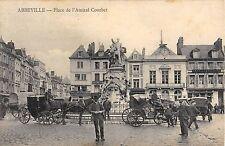 CPA 80 ABBEVILLE PLACE DE L'AMIRAL COURBET