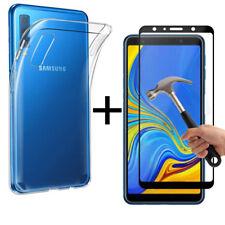 Samsung Galaxy A7 (2018) A750f Ultra Silm Silikon Schutz Hülle Tasche Etui Cover