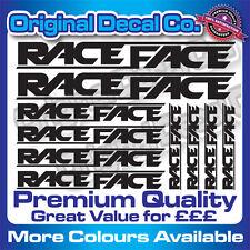 Premium Quality Race Face Bike Decals Stickers mountain bike bmx mtb + FREE GIFT